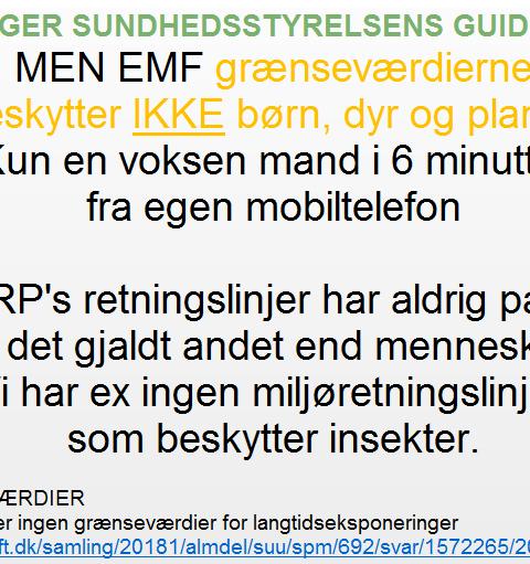 EMF mobilstråling grænseværdier